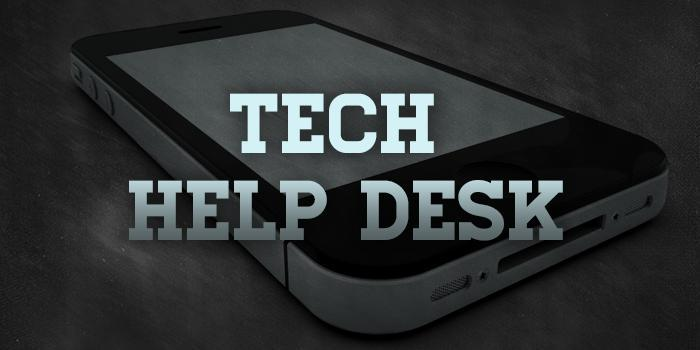 help desk tech